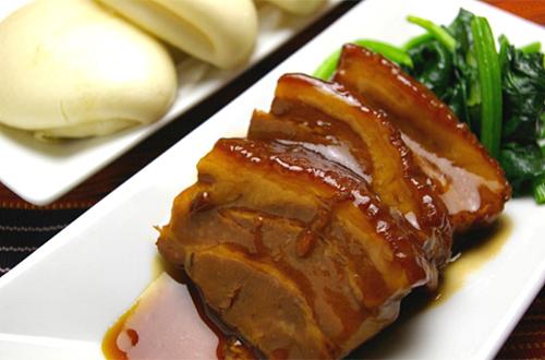 東坡肉 (豚の角煮 饅頭添え 3個入り)