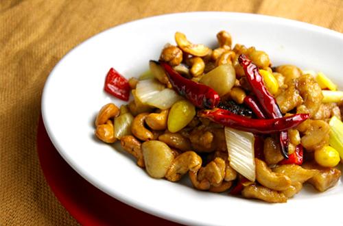 腰果鶏丁 (鶏肉とカシューナッツの炒め)