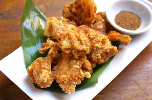 清炸鶏(若とりの唐揚げ)