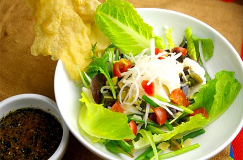 軟豆腐沙律 (おぼろ豆腐のサラダ)