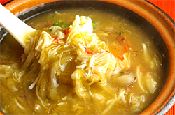 蟹肉砂鍋翔湯