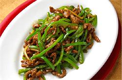 青椒牛肉糸
